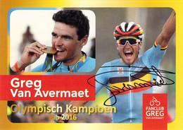 CYCLISME: CYCLISTE : GREG VAN AVERMAET - Wielrennen
