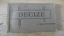 DECIZE : Carnet De 12 Vues Detachables Complet - Decize