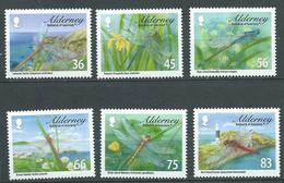 Alderney  -  Yvert  N° 370 à 375  **  6 Valeurs Neuves Sans Charnière - PAL 6701 - Alderney