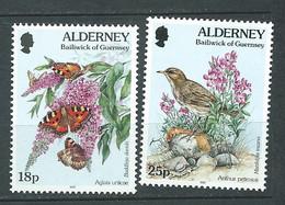 Alderney  -  Yvert  N° 100 ET 101 **  2 Valeurs Neuves Sans Charnière - PAL 6702 - Alderney