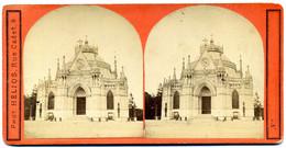 Photo Stéréoscopique - Dreux - Chapelle Royale ( Hélios  éditeur Rue Cadet )  ( I  192 ) - Stereoscopic
