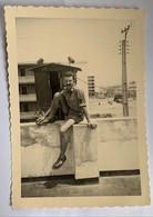 Photo Militaire. Guerre. Militaria. Homme Qui Pose. Tunis. - War, Military