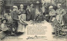 Ref 832- Cher -les Chansons  De Jean Rameau Illiustrées  - L Ancan -vente Aux Encheres A L Aubarge Du Berry - Shopkeepers