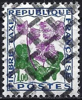 France 1965 - Mi P103 - YT T102 ( Postage Due : Flowers ) MNH** - Timbre Annulé - Rebut - Curiosità: 1960-69  Nuovi