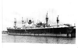 """Photo Bateau  """" Pvire """" Liberty Ex """" David A Curry """" USA 1944 Los Angeles S  C.G.T Compagnie Générale Transatlantique - Boats"""