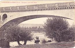 Courcelles-sur-Seine - Paysage Au Bord De La Seine - Altri Comuni