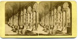 Photo Stéréoscopique - Italie - Rome - Cloitre De Saint Paul Hors Les Murs  N° 7593 ( I  197) - Stereoscopic