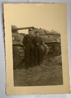 Photo Militaire. Artillerie. Blindé. Militaria. Guerre D'Algérie. Char D'assault. - War, Military