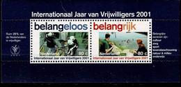 Niederlande 2001,Michel# 1874 - 1875 (*) - Gebruikt