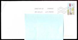"""Timbre Postal Adhésif (2020) """"Phares, Repères  De Nos Côtes, Phare Du Cap Ferret"""" Seul Sur Lettre - 1961-...."""