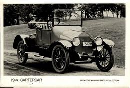 1914 CARTERCAR  MANNING BROS COLLECTION  18*13CM CAR COCHES Bryan Goodman Collection - Cars