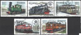 Sweden 2006. Mi.Nr. 2510-2514, Used O - Used Stamps