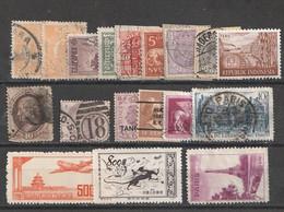 Weltweit - Int. Aelterer Bestand (event. Fundgrube) (2252) - Lots & Kiloware (mixtures) - Max. 999 Stamps