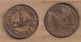 HAITI 1 Centime 1895 Bronze • 5 G • ⌀ 25 Mm KM# 48 - Haiti