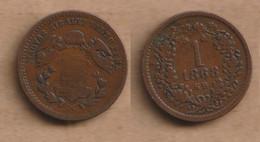 HUNGRIA 1 Krajczár 1868    Copper • 3.33 G • ⌀ 19 Mm KM# 441 - Hungary