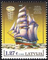 Latvia Lettland Lettonie 2021 (03) Historical Latvian Ships - Three-mast Barkentine Mercator 1895 - Lettland