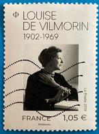 France 2019 : Cinquentenaire De La Mort De Louise De Vilmorin N° 5299 Oblitéré - Usati