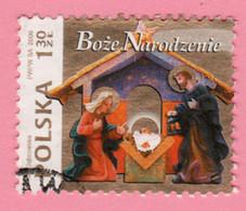 2006 POLONIA  Natale Christmas  Nativity -1,30 Zł  Usato - Usati
