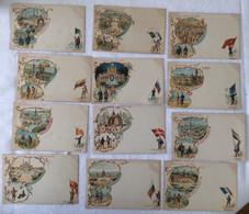 Lot De 12 Cartes -exposition De 1900-Paris —-712 - Exposiciones