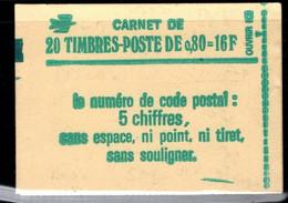 France Carnet 1970 C1a Sabine De Gandon Gomme Mate Daté 14 11 77 - Definitives