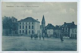 Chatelineau Place Wilson Et Maison Communale ( Carte Bleue ) - Châtelet