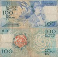 Portugal / 100 Escudos / 1986 / P-179(e) / FI - Portugal