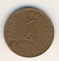 TRINIDAD & TOBAGO 1971: 1 Cent, KM 1 - Trinidad & Tobago