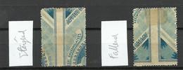 LATVIA Lettland 1921 Michel 69 * Text Fallend + Steigend - Lettland