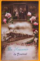 Un Souvenir De Tournai (train). - Tournai