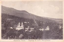 Seltene  ALTE  AK   VARATIC / Moldawien  - Teilansicht Mit Kirche - 1933 Gelaufen - Moldavië