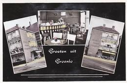 2604169Groeten Uit Groenlo, Lunchroom Frans Nijhoff Markt 8. (minuscule Vouwen In De Hoeken) - Groenlo