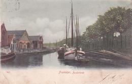2604280Franeker, Zuiderkade. (poststempel 1905)(vouwen In De Hoeken, Linksboven Een Scheurtje) - Franeker