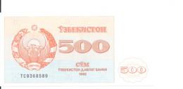 OUZBEKISTAN 500 SUM 1992 UNC P 69 - Uzbekistan