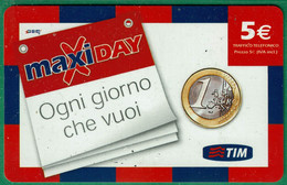 TIM - Maxi Day -  Scadenza  Gen. 2010 - GSM-Kaarten, Aanvulling & Voorafbetaald