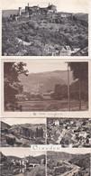 3834418Vianden, Multivues – Vue Prise Route De Roth – Les Ruines (3 Cartes) (voir Coins, Voir Verso) - Vianden