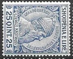 Albania Mint Hinged * 5 Euros 1913 - Albania