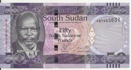 SOUDAN SOUTH 50 POUNDS ND2011 UNC P 9 - Sudan