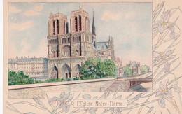 2833127    Paris, L'EgliseNotre Dame Verso La Tour St. Jacques - Other Monuments