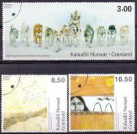 GROENLAND 2007 Kunst GB-USED. - Gebraucht