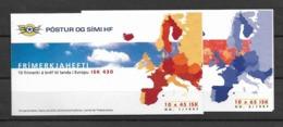 1997 MNH Iceland, Booklet Postfris - Cuadernillos/libretas