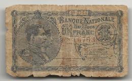 Billet De 1 Franc Du 8 Décembre 1920 - 1 Franco