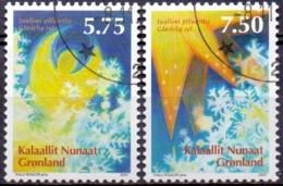 GROENLAND 2007 Kerstzegels GB-USED. - Gebraucht