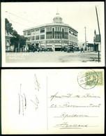 """Nederlands Indie 1936 Ansichtkaart Soerabaja Toendjoengan """"Het Engelse Warenhuis"""" Van Soerabaja Naar Apeldoorn - Indie Olandesi"""