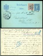 Nederlands Indie 1904 Briefkaart Van Weltevreden Naar Berlijn Geuzendam Geuzendam 10b Met NVPH 39 - Netherlands Indies