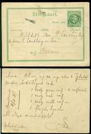 Nederlands Indie 1887 Briefkaart Naar Batavia Geuzendam 8 - Netherlands Indies