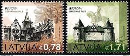 Latvia Lettland Lettonie 2017 (04) Europe - Castles - Cesvaine - Bauska - Lettland