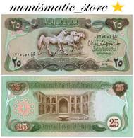 Iraq 25 Dinars 1980 P.60 ''Arabian Horses'' UNC #644# - Iraq
