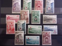 MONACO YVERT 200/14 NEUF** MNH LUXE - Unused Stamps