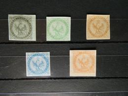 FRANCE Colonies Générales Type Aigle Neuf Avec Et Sans Gomme Voir Commentaire - Aquila Imperiale