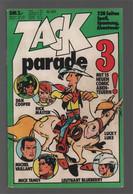 Koralle Zack Parade  3 (1973) - Dan Cooper Rick Master Lucky Luke Michel Vaillant Mick Tangy Leutnant Blueberry - Other